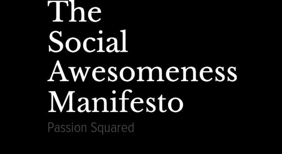 The Social Awesomeness Manifesto
